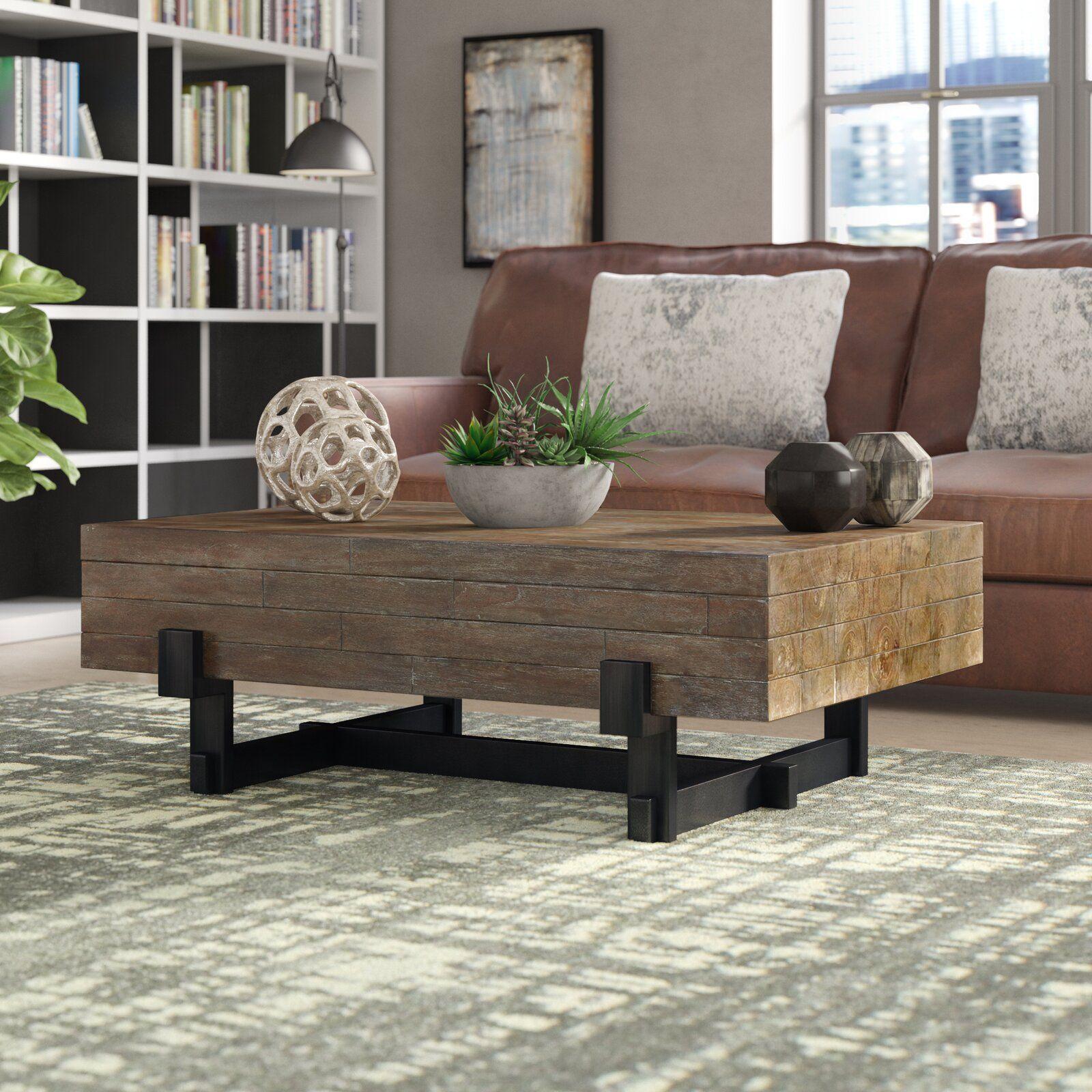 43++ Wayfair farmhouse coffee table with storage trends