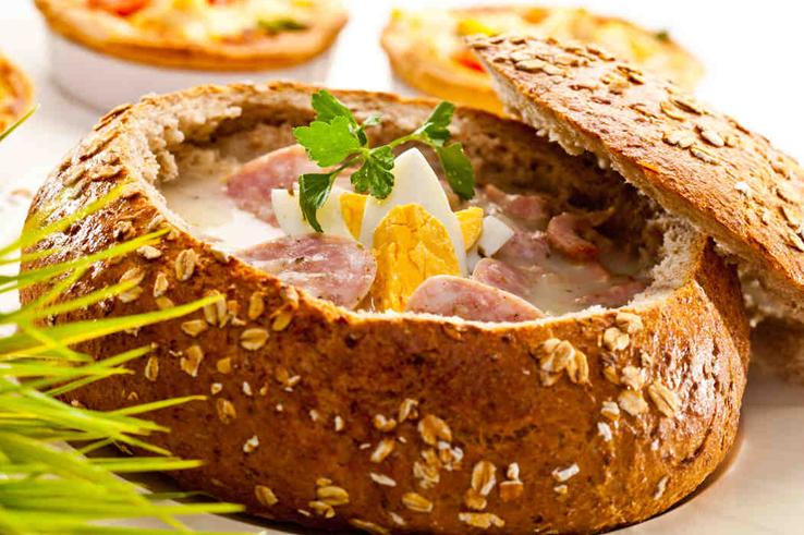 #Wielkanoc #smacznastrona #HappyEaster #Easter #żurek #żur #bread #omnomnom #mniam #delicious #soup