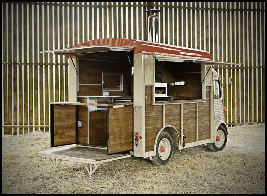 Citroen H-Van Street Food Conversion | store ideas in 2019