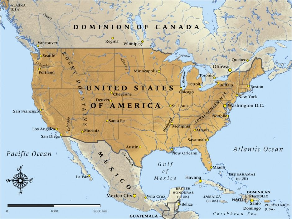 map of united states of america in 1917 nzhistory new zealand
