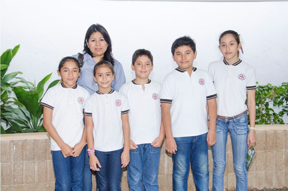 Escuela, Ceremonia de Canje REQPET 2014