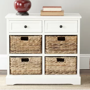 Cabinets Chests You Ll Love Wayfair Wicker Decor Accent Chest Storing Blankets
