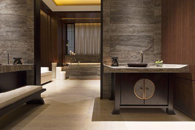 the westin xiamen heavenly spa bathroom badezimmer bett und b der. Black Bedroom Furniture Sets. Home Design Ideas