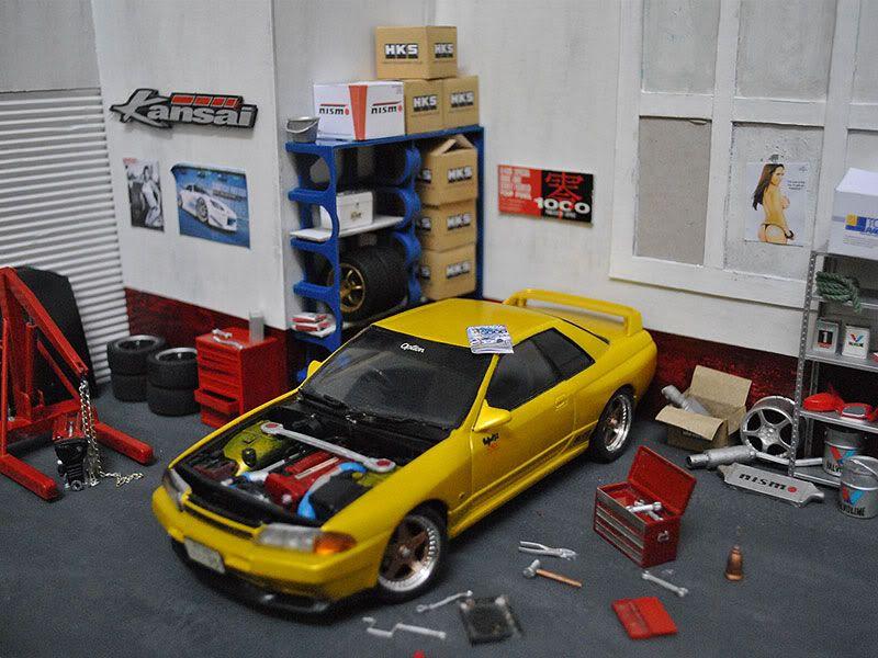 Tuners Garage Tuner Garage Hot Wheels Garage Scale Models Cars