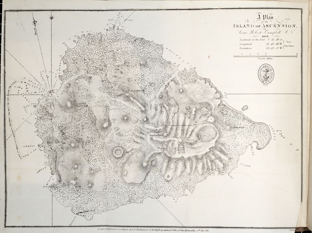 Charles Darwin Geological Observations On The Volcanic Islands