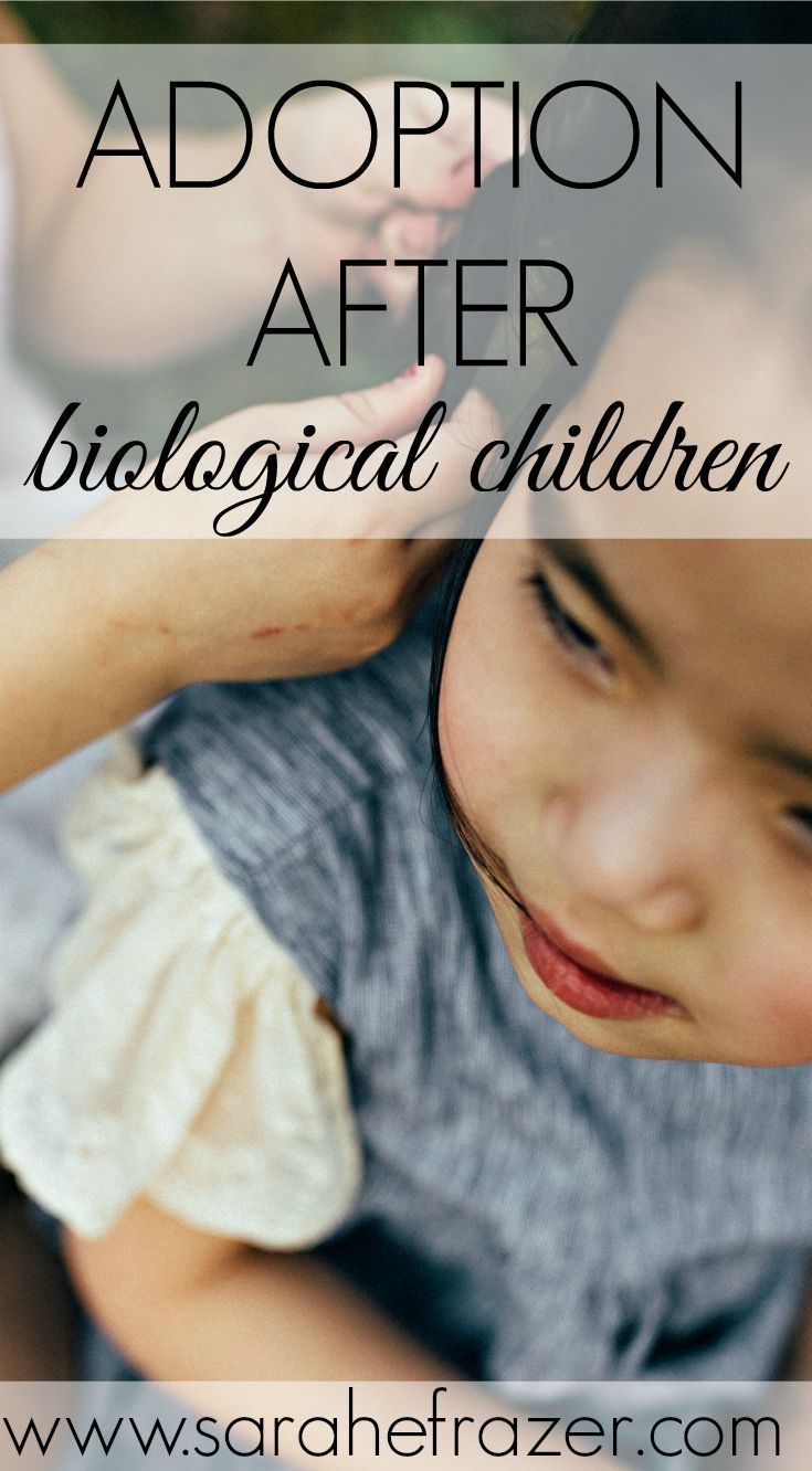 Adoption After Biological Children - Do you dream about adoption but think your biological kids will be hurt? Find out why that is SOOO wrong!