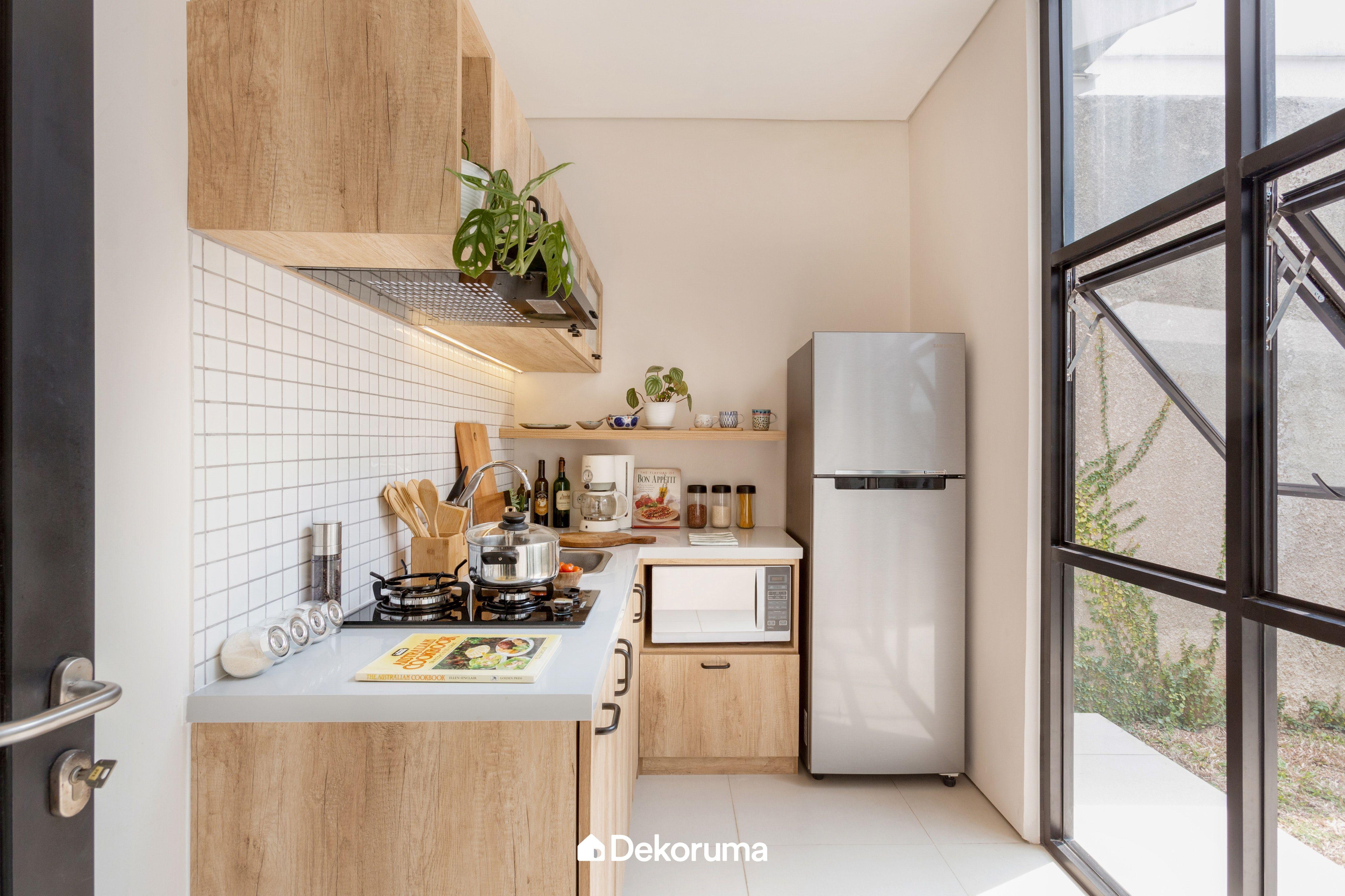 Scandinavian Kitchen Set Sawangan Dapur Luar Ruangan Ide Dapur Desain Interior