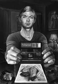 Jeffrey Dahmer Drawing This Is Really Cool It Looks Realistic