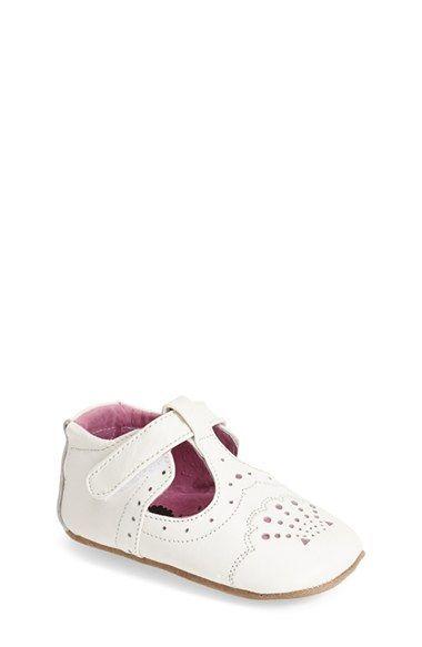 Livie & Luca 'Cora' Mary Jane Crib Shoe (Baby & Walker) | Nordstrom