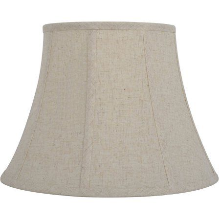 Better Homes and Gardens Classic Bell Shade, Beige