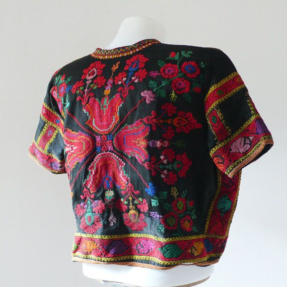 Beautiful Embroidery Palestine Jacket hand made by DorisVintage