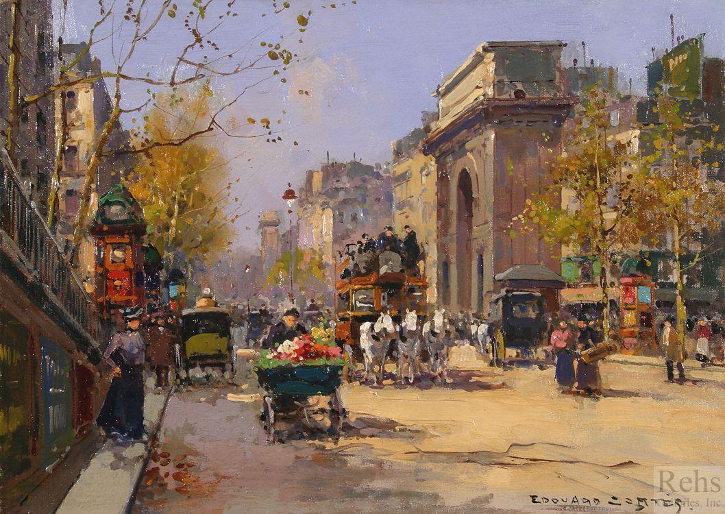 Souvent Edouard Leon Cortes (1882-1969) - Paris: Part II | şehirler  AE87