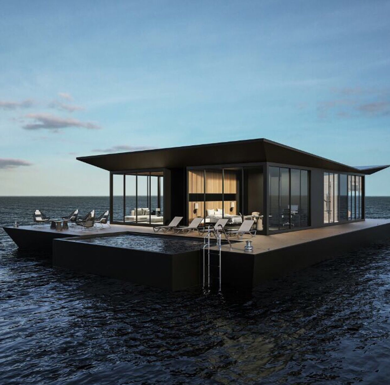 What a house boat ! | Home design | Pinterest | Boating ...