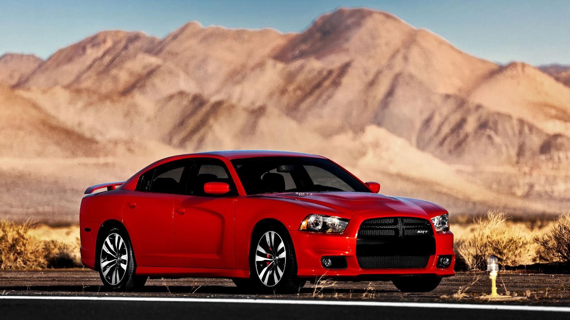 Dodge charger srt8 red