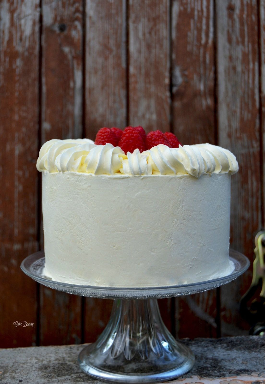 Layer Cake Vanille Framboise Layer Cake Gateau
