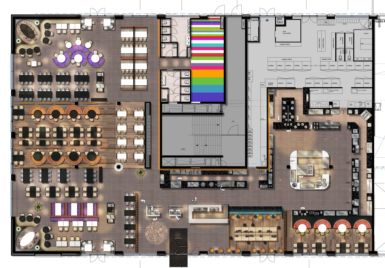 Design Plan Restaurant Vandaag Restaurant Plan Restaurant Layout Restaurant Floor Plan