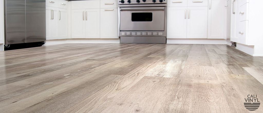 Vinyl Flooring Planks Gray Ash Wide Cali Bamboo Character In