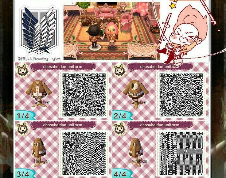 on Titan Qr Codes for Animal Crossing New Leaf | Animal ... on