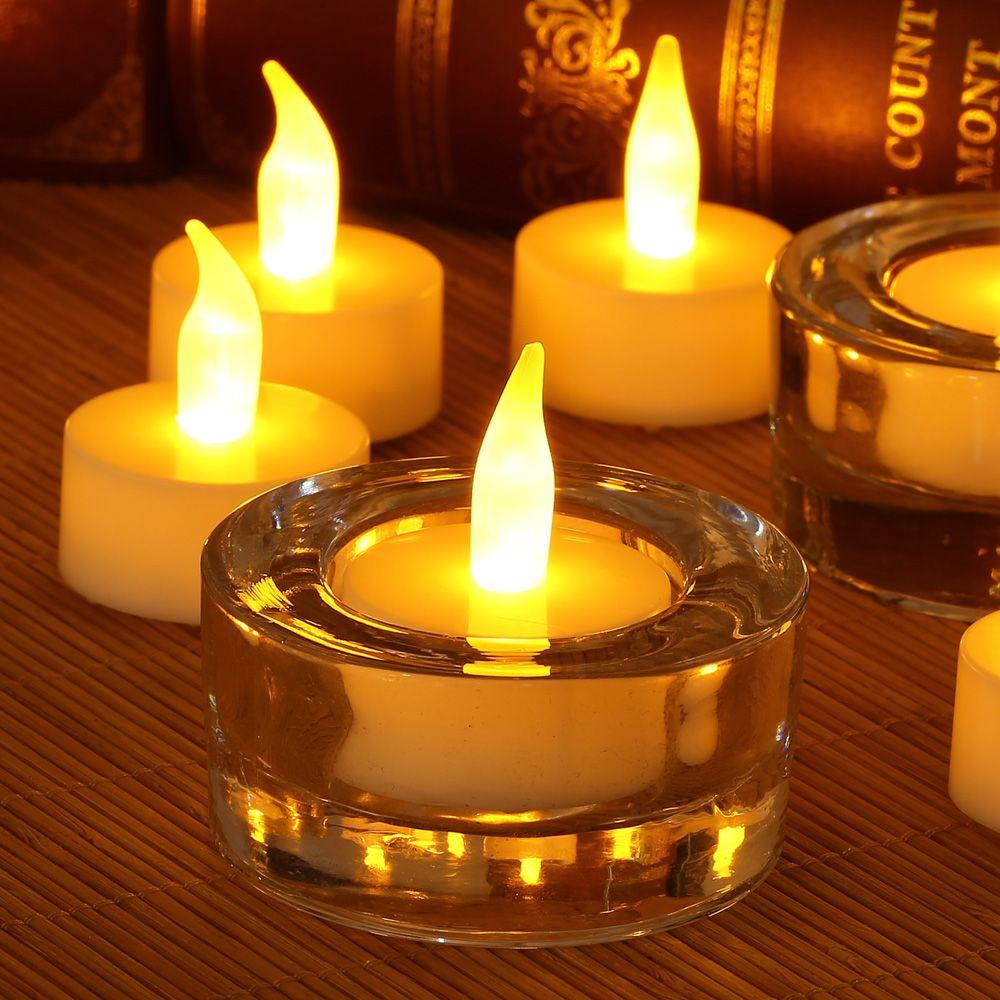 ARILUX® ALCL02 12pcs Flameless LED Tea Light Candles