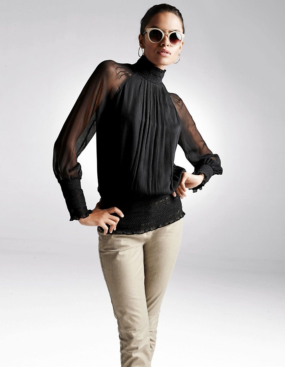 877bb37f68e08a Pin by Michael Hufnagl on woman clothes | Bluse, Madeleine mode, Mode