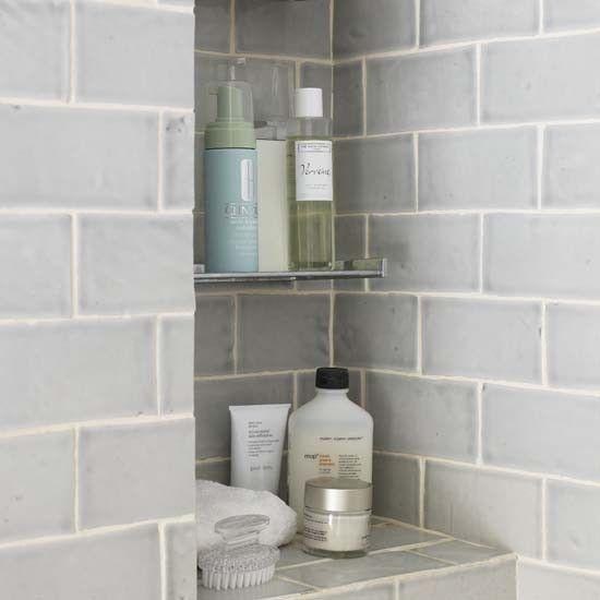 Built-in bathroom storage | Bathroom | PHOTO GALLERY | Ideal Home | Housetohome.co.uk