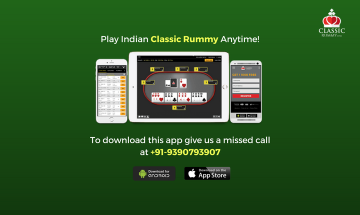 Play Indian Classic Rummy Anytime! To download android