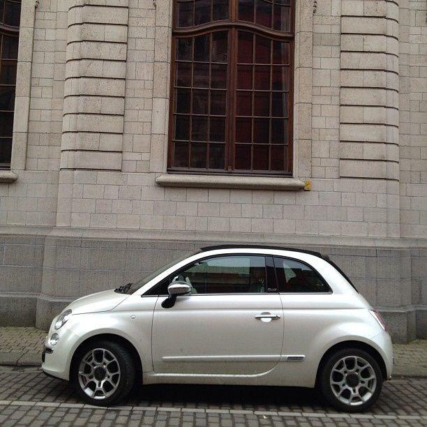 Fiat 500 Pearl White Fiat 500