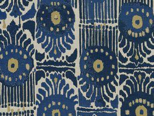 INdoor / Outdoor fabric: Bazaar in Grotto from Perennials #fabric #outdoor #indoor #blue