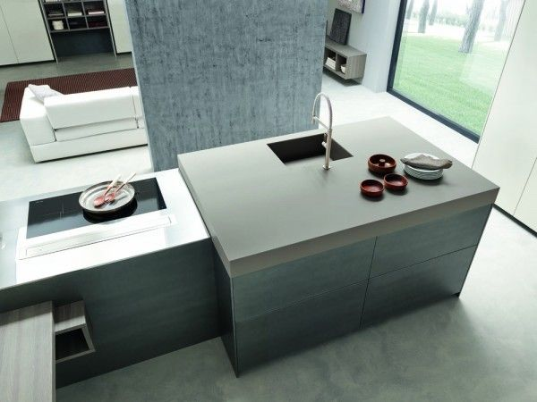 Cucina e soggiorno insieme | MILANO DESIGN WEEK | Cucine ...