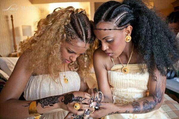 Habesha Ethiopian Beauties Ethiopia Love Pinterest - Ethiopian brides hairstyle