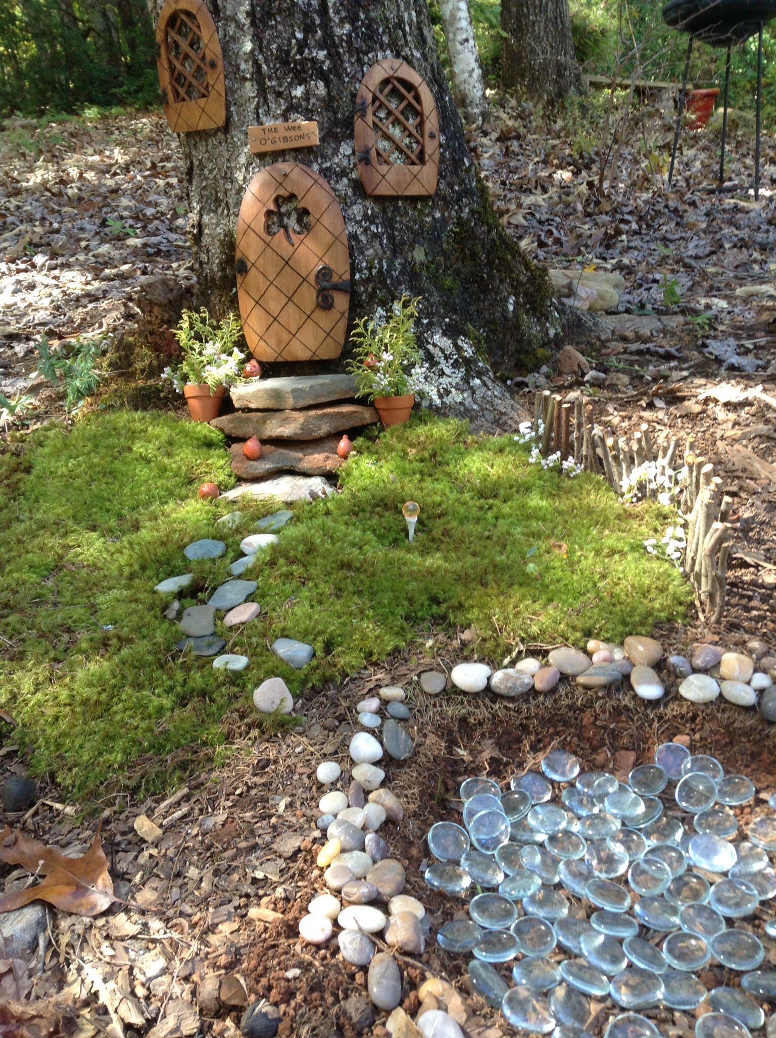 Leprechaun house and garden. | Yard decor and ornaments | Pinterest ...