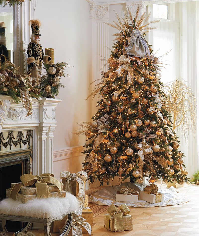 charming frontgate christmas ornaments part 6 5 steps to a dazzling designer tree - Designer Christmas Tree
