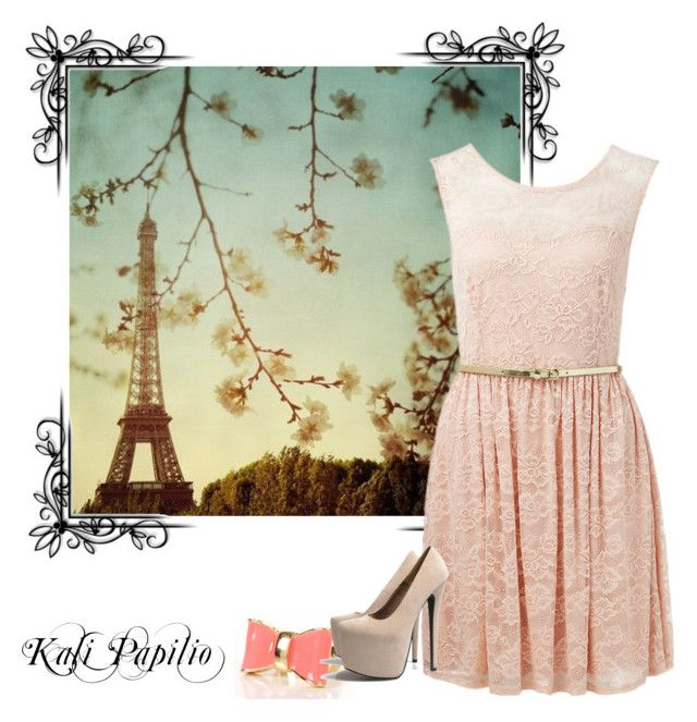 """""""paris"""" by chelsssea-1 ❤ liked on Polyvore featuring Forever New and AX Paris"""