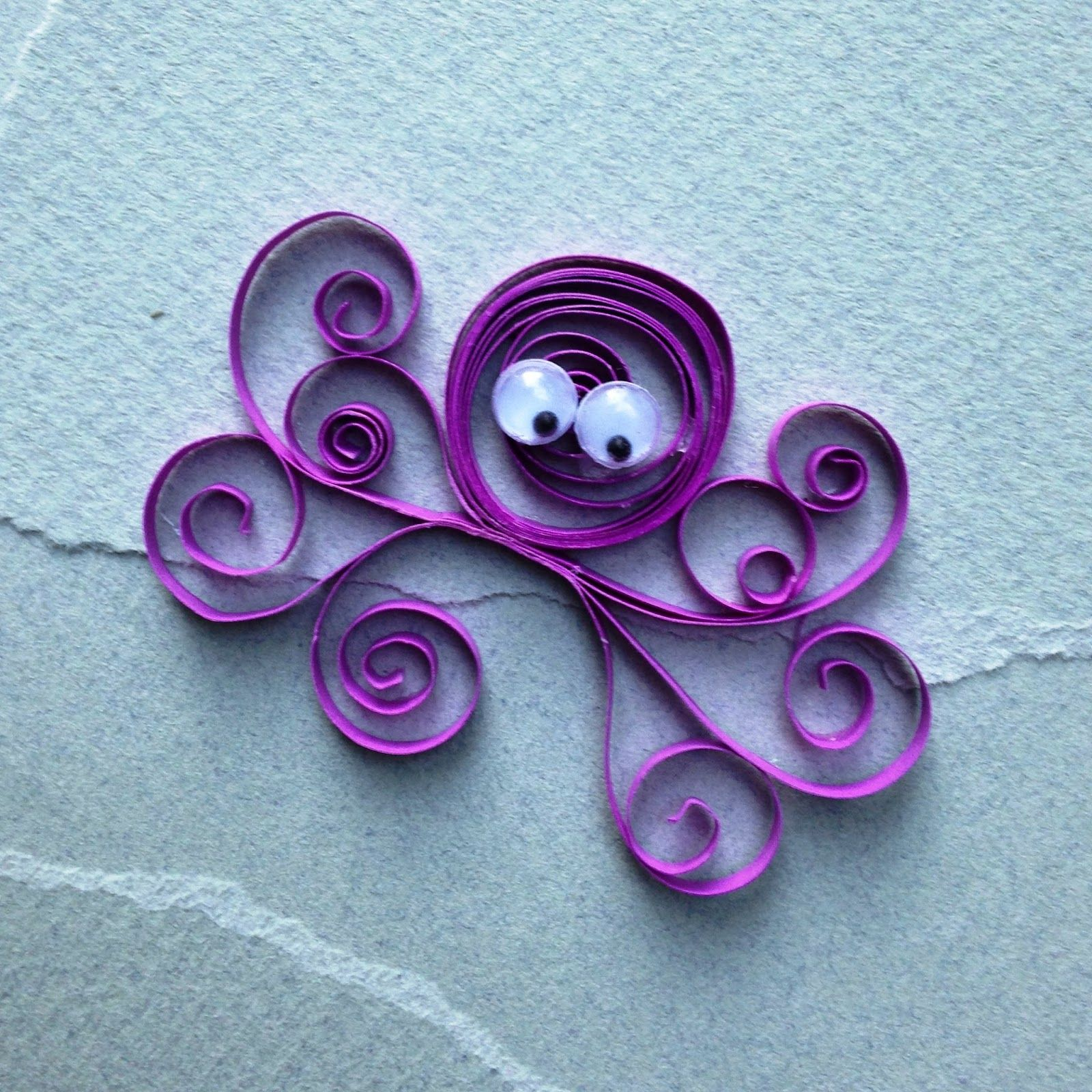 Easy quilling for kids pinteres for Easy quilling designs step by step