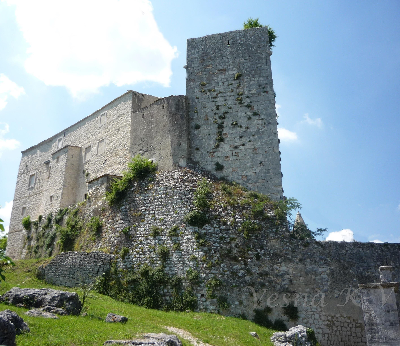 Krsan Kastel Istra Croatia 26 05 2016 Istra Castle Croatia