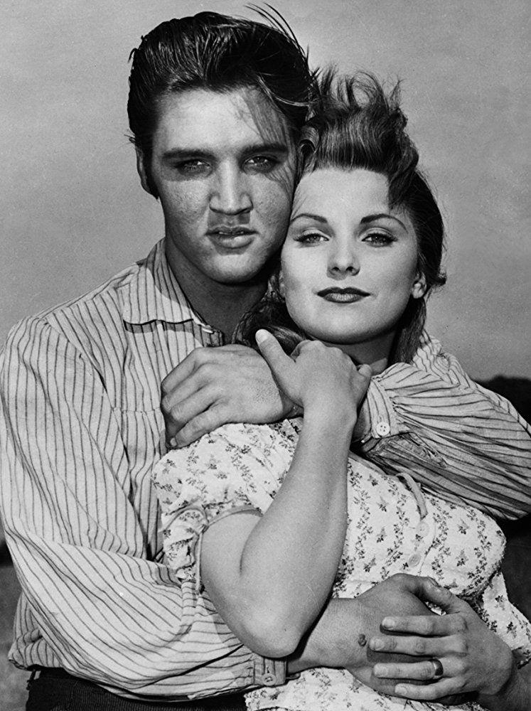 Elvis Presley and Debra Paget in Love Me Tender (1956
