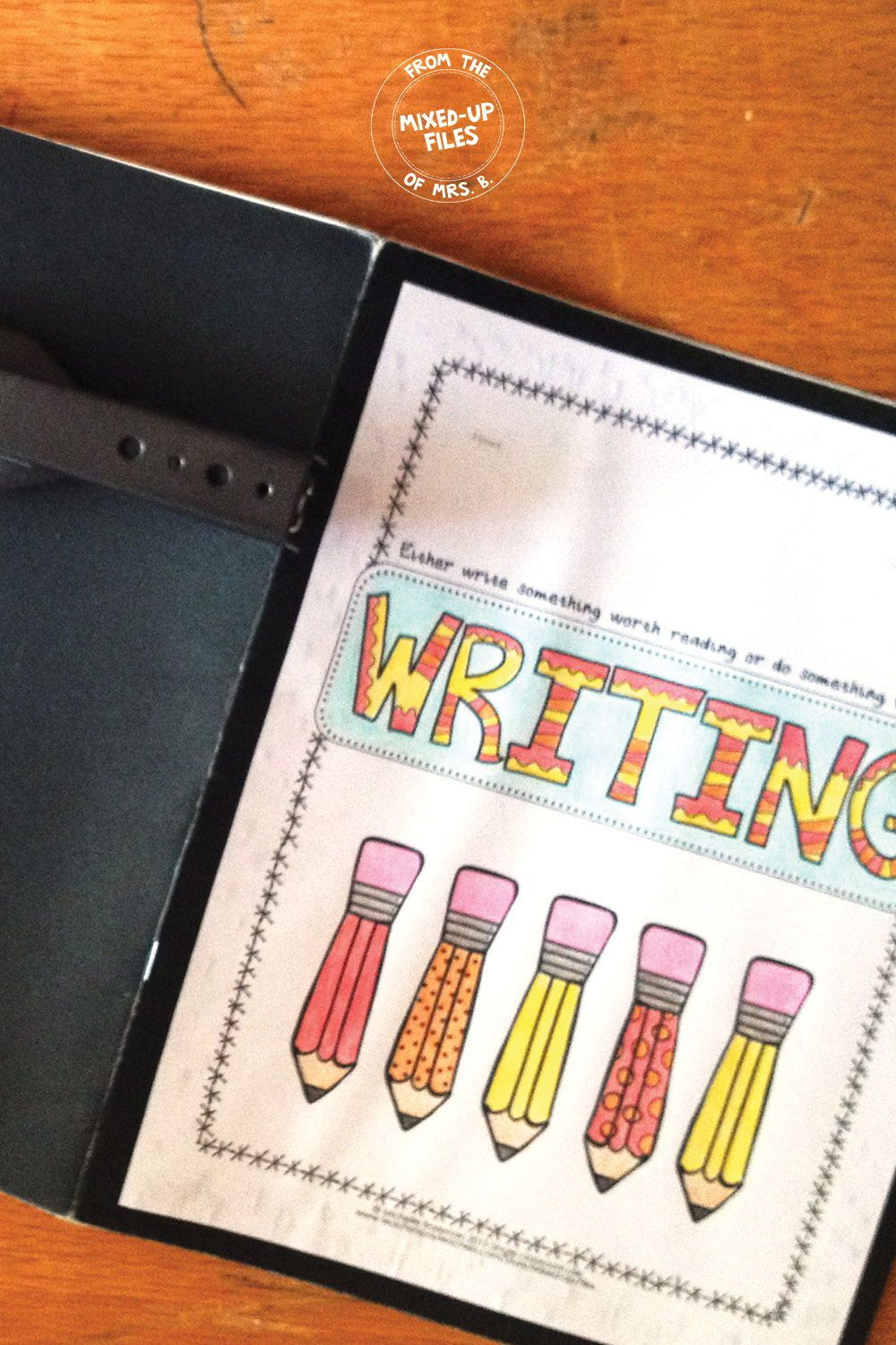 writing workshop folder | free tpt resources for middle school ela