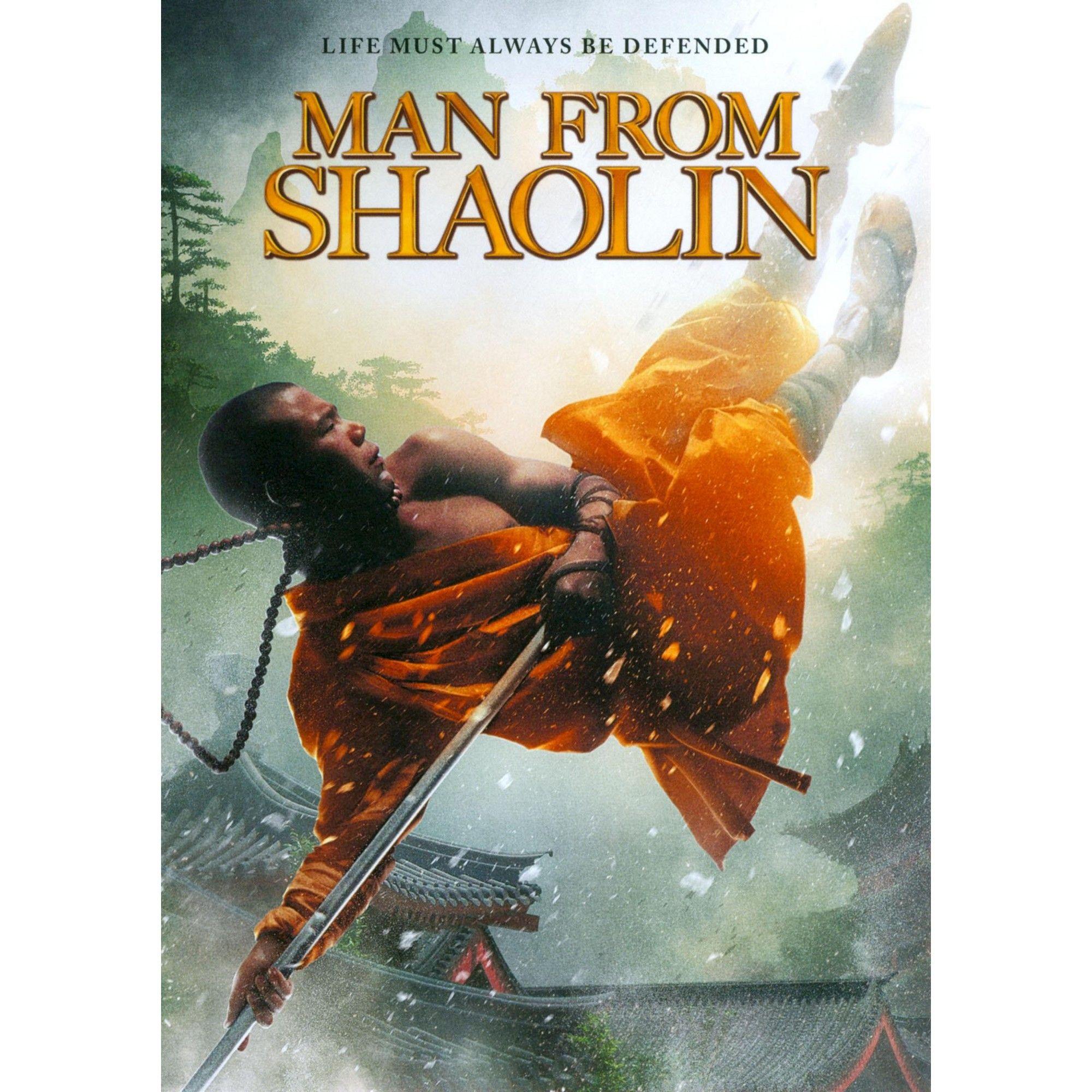 Man from shaolin dvd shaolin kung fu schools dvd