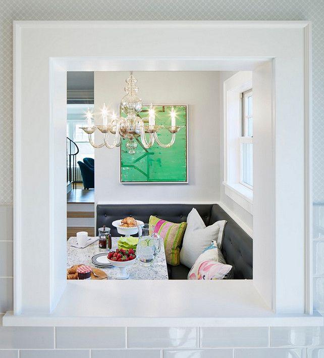 Small Kitchen Pass Through Ideas Part - 46: Pass-through Window. Indoor Pass-through Window. Kitchen To Eating Nook Pass