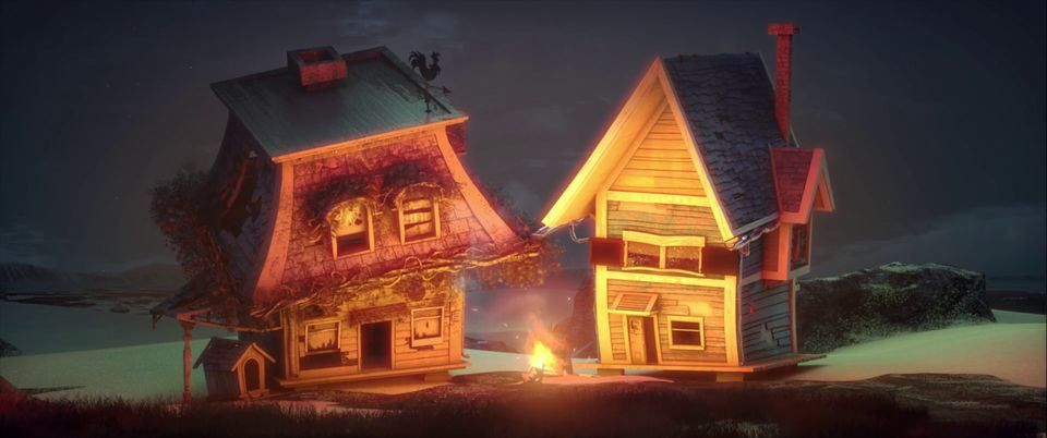 Home Sweet Home Cg Animation Short Film Sweet Home Home House Styles