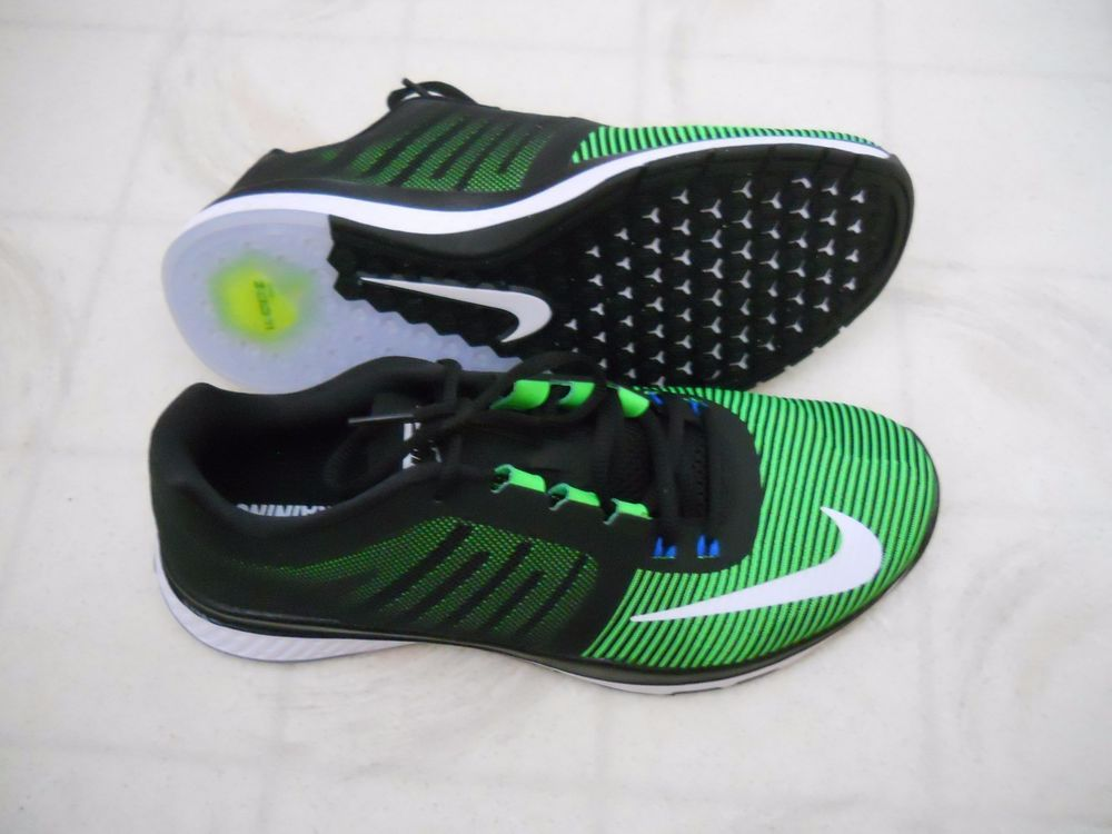 aa8c0c0c0f8a ... netherlands new mens nike zoom speed trainer 3 shoes 804401 310 black  green size 8.5 183