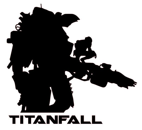Titanfall mech xbox one vinyl sticker