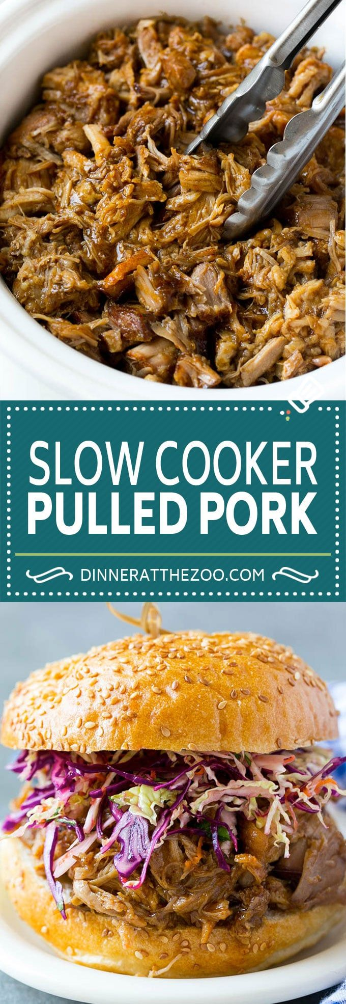 Slow Cooker Pulled Pork Sandwiches Recipe | Slow Cooker Pulled Pork Recipe | Crockpot Pulled Pork | Slow Cooker Sandwiches