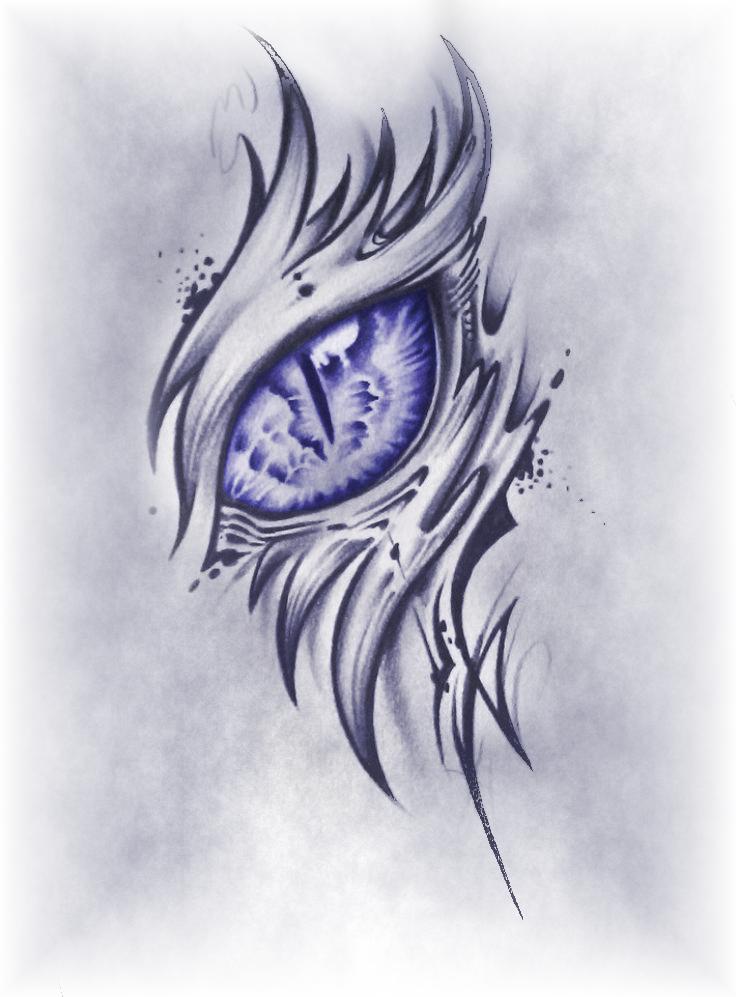 Artistic Eye Tribal Dragon Tattoo Dragon Eye Drawing Eye Tattoo Dragon Sketch