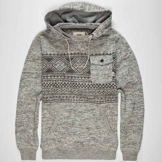 vans zip up hoodie mens