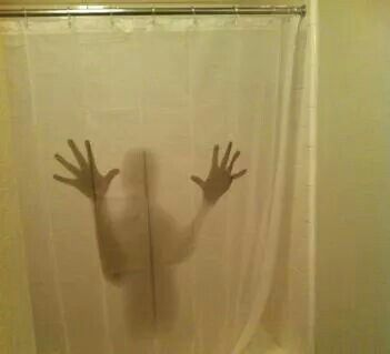 Shadow Figure Shower Curtain Want It Unique Funny Gifts