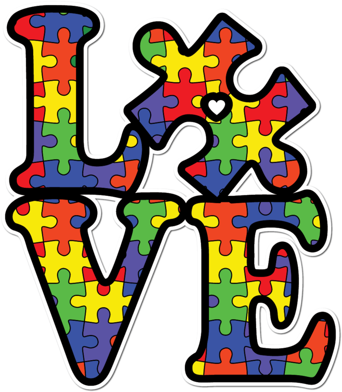 Love Autism Awareness Mama Bear Different Not Disabled The World Says I M Autistic God Says I M Perfect Puzzle Pi Mama Bear Autism Awareness Puzzle Pieces