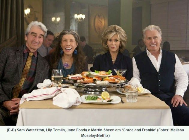 """TERCEIRA IDADE CONECTADA: """"Grace and Frankie"""", nova comédia do Netflix"""