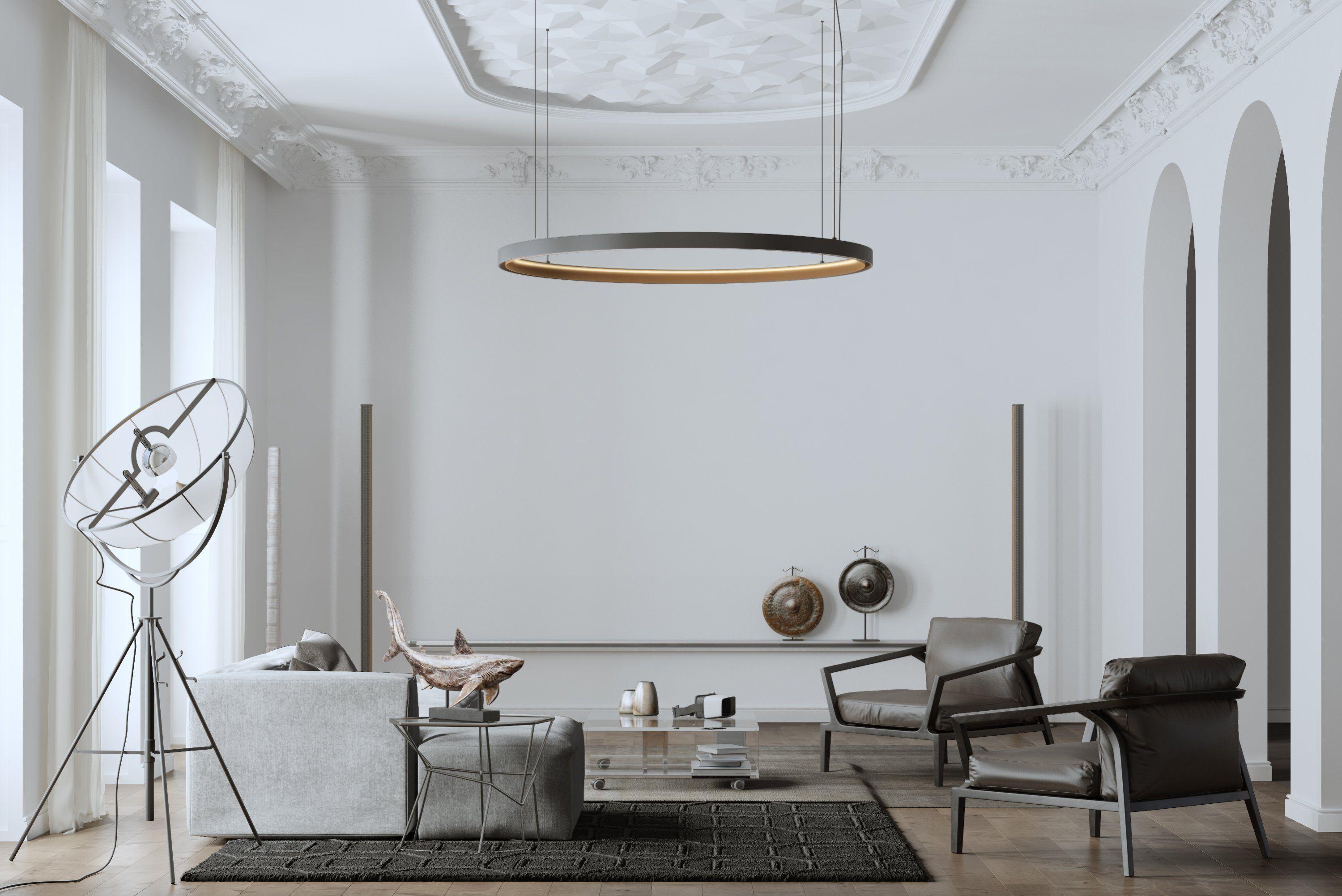 Nice house interior design with round shape lamp on the ceiling livingroom handmade interiors interiordesign interiordesignideas design decor