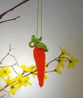 Häkelanleitung Möhre Häkeln Ostern Crochet Pattern Easter